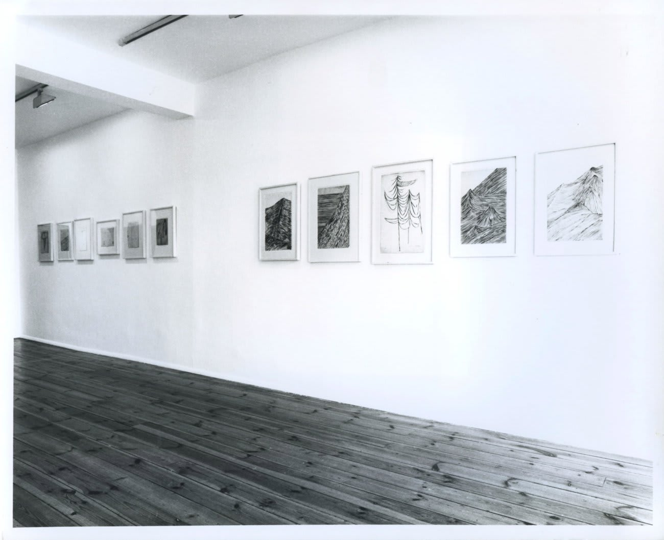 Louise Bourgeois: Drawings 1940–90, installation view, April 1990