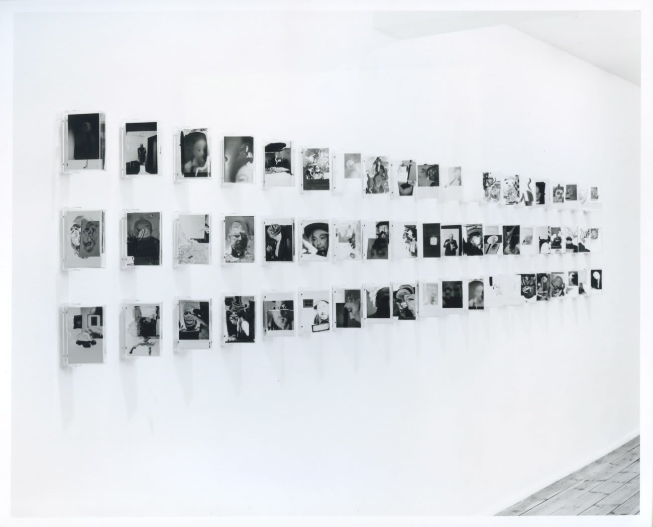 Richard Hamilton & Dieter Roth: Interfaces, installation view, February 1990