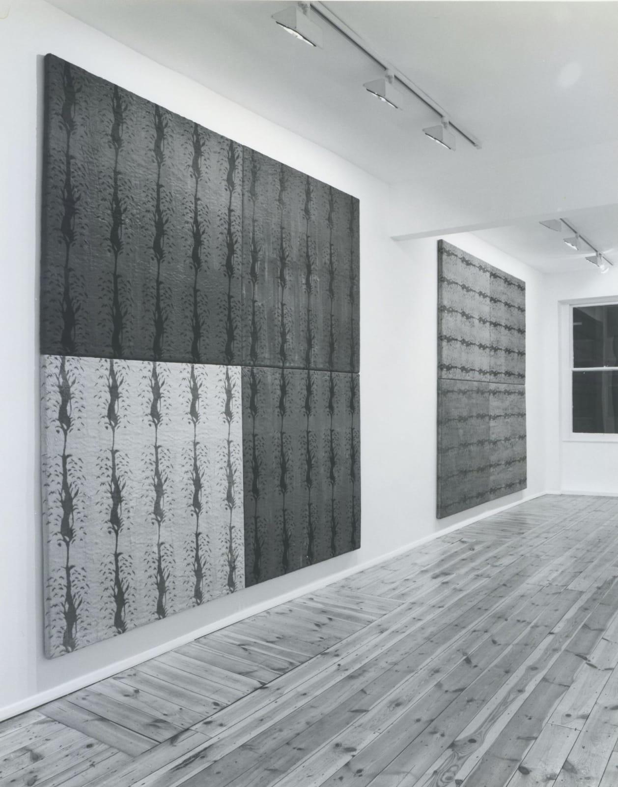 Eric Bainbridge: Paintings, installation view, November 1987