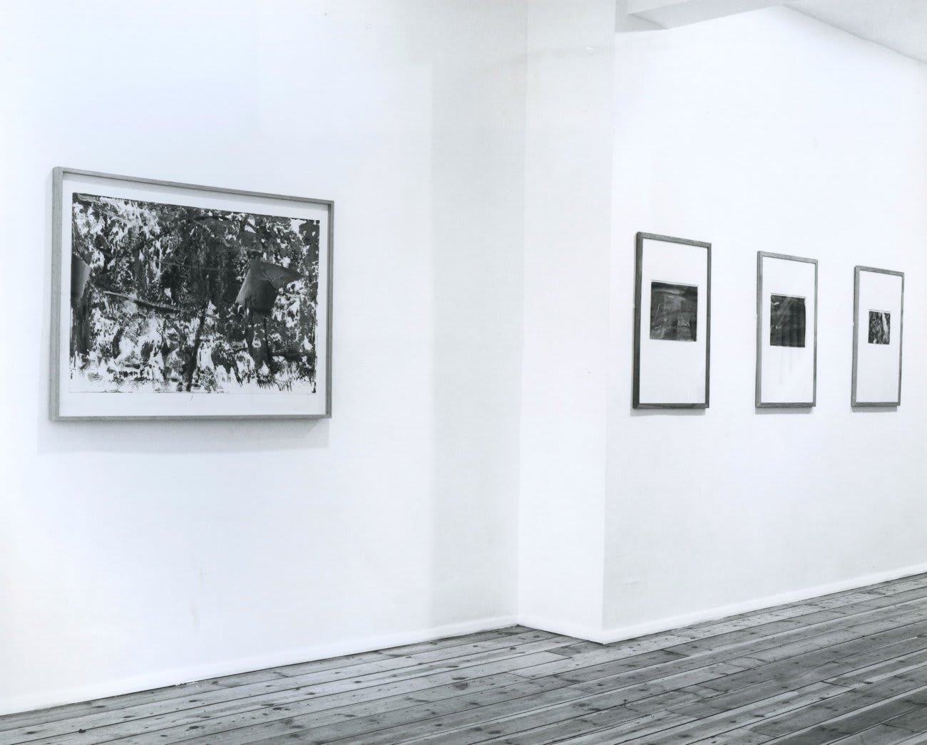 Gerhard Richter: Works on Paper, installation view, July 1987