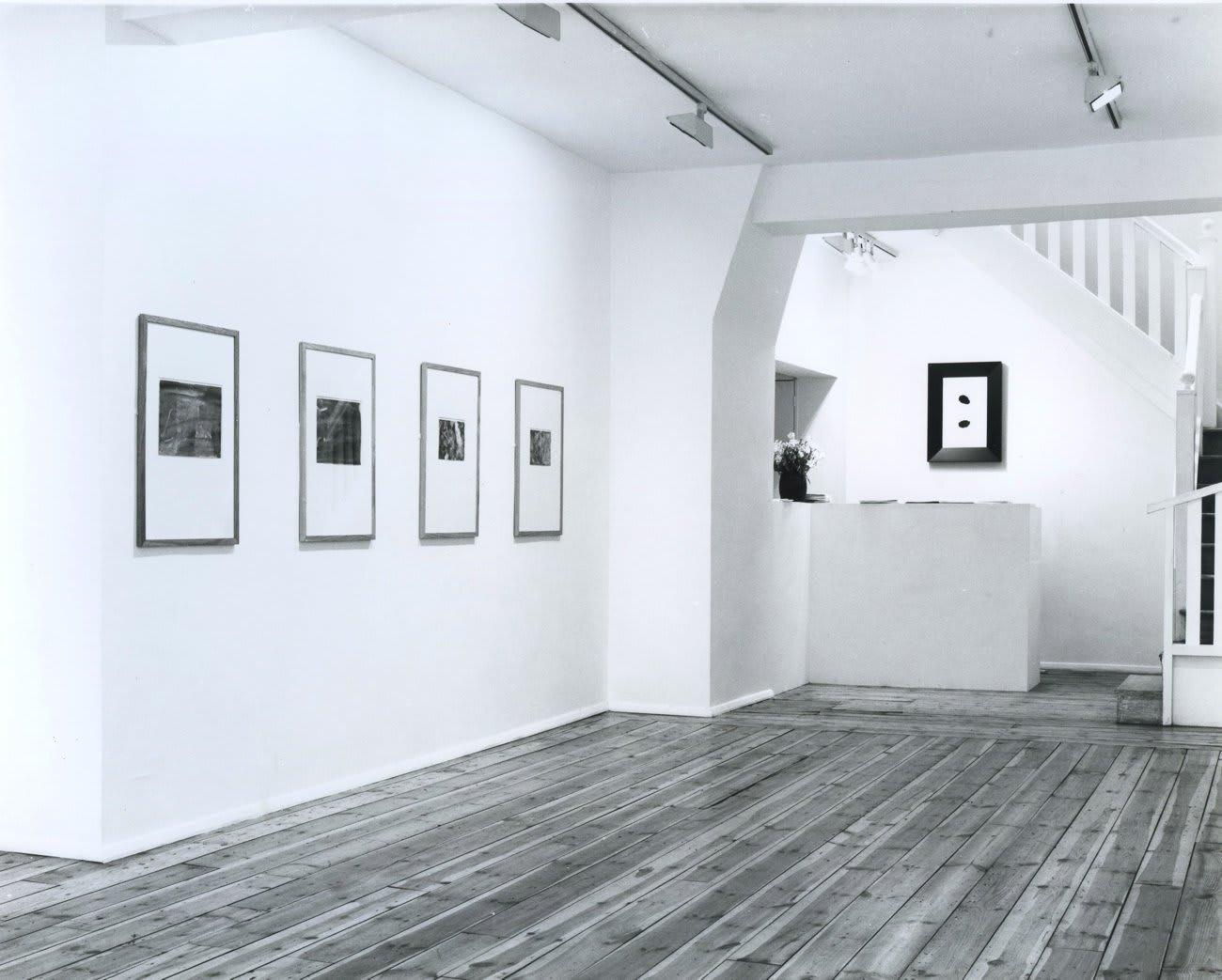Gerhard Richter: Works on Paper, installation view, June 1987