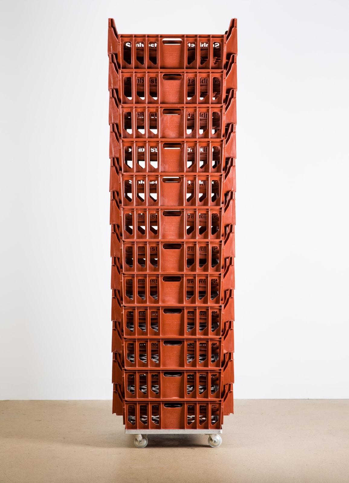 Michael Landy, Stack VII, 1990.
