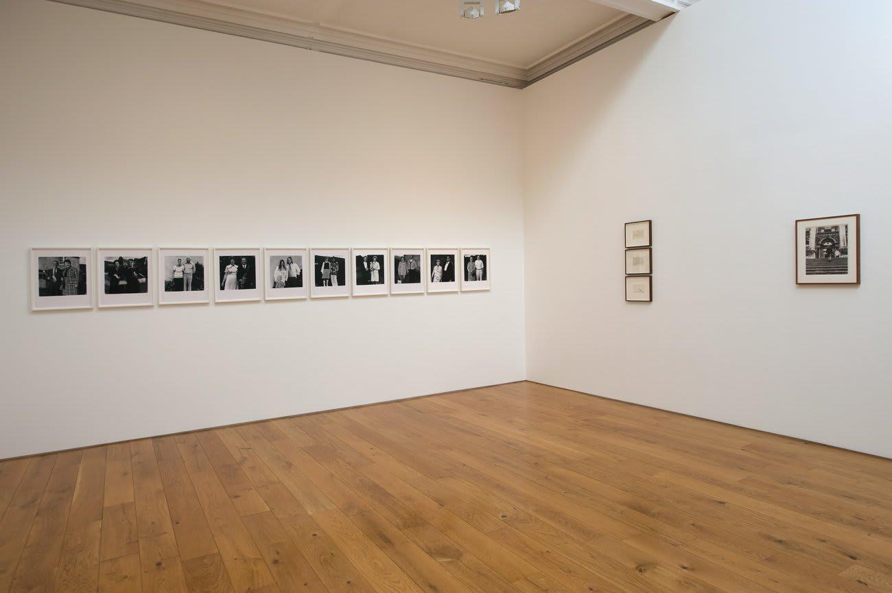 Installation view, Karsten Schubert, 2009