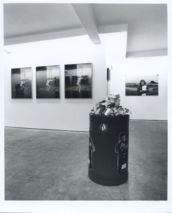 Not Self-Portrait, installation view, May 1994