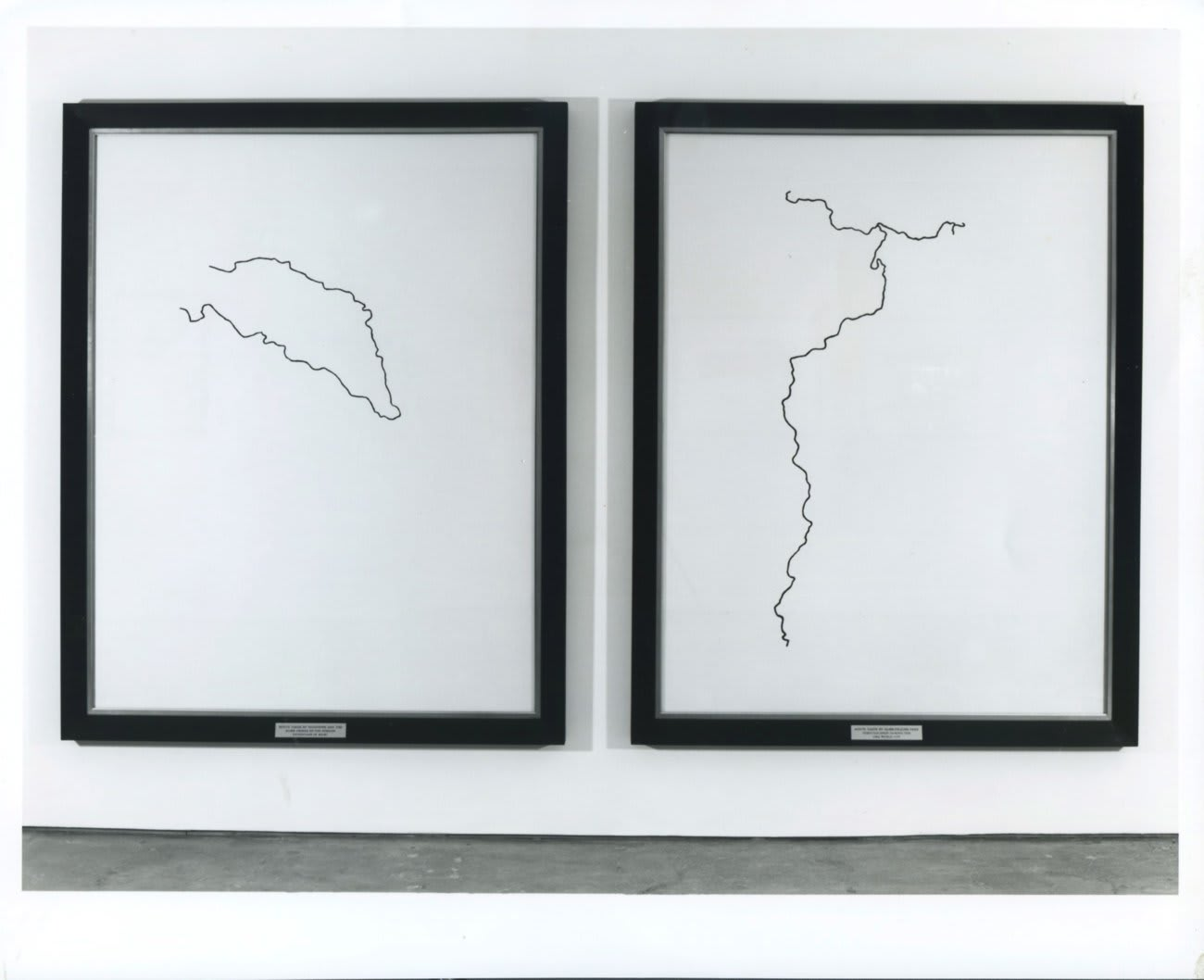 Keith Coventry: New Works, installation view, October 1993