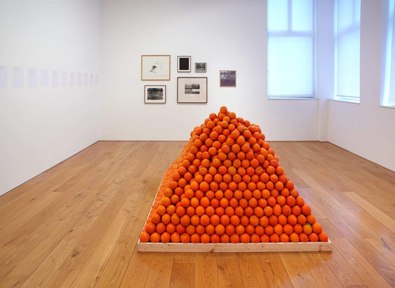 Installation view, Karsten Schubert, 2011