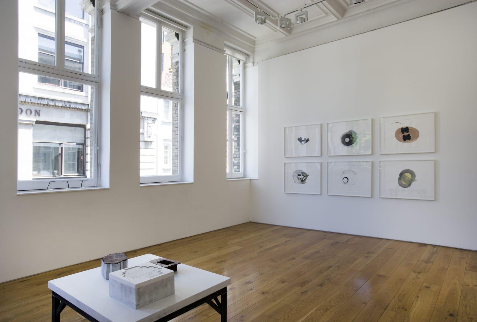 Installation view, Karsten Schubert, 2010