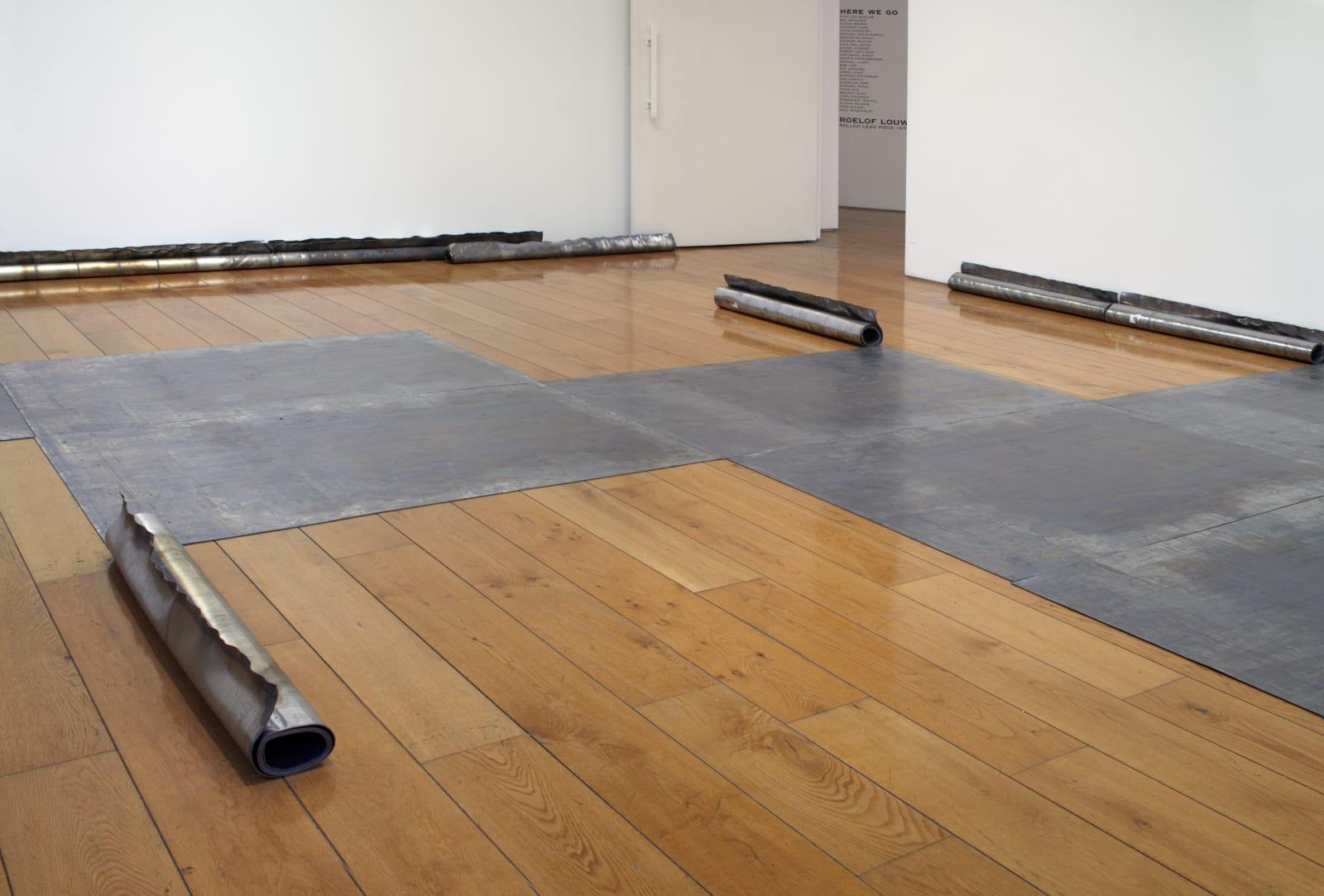 Installation view, Karsten Schubert, 2013