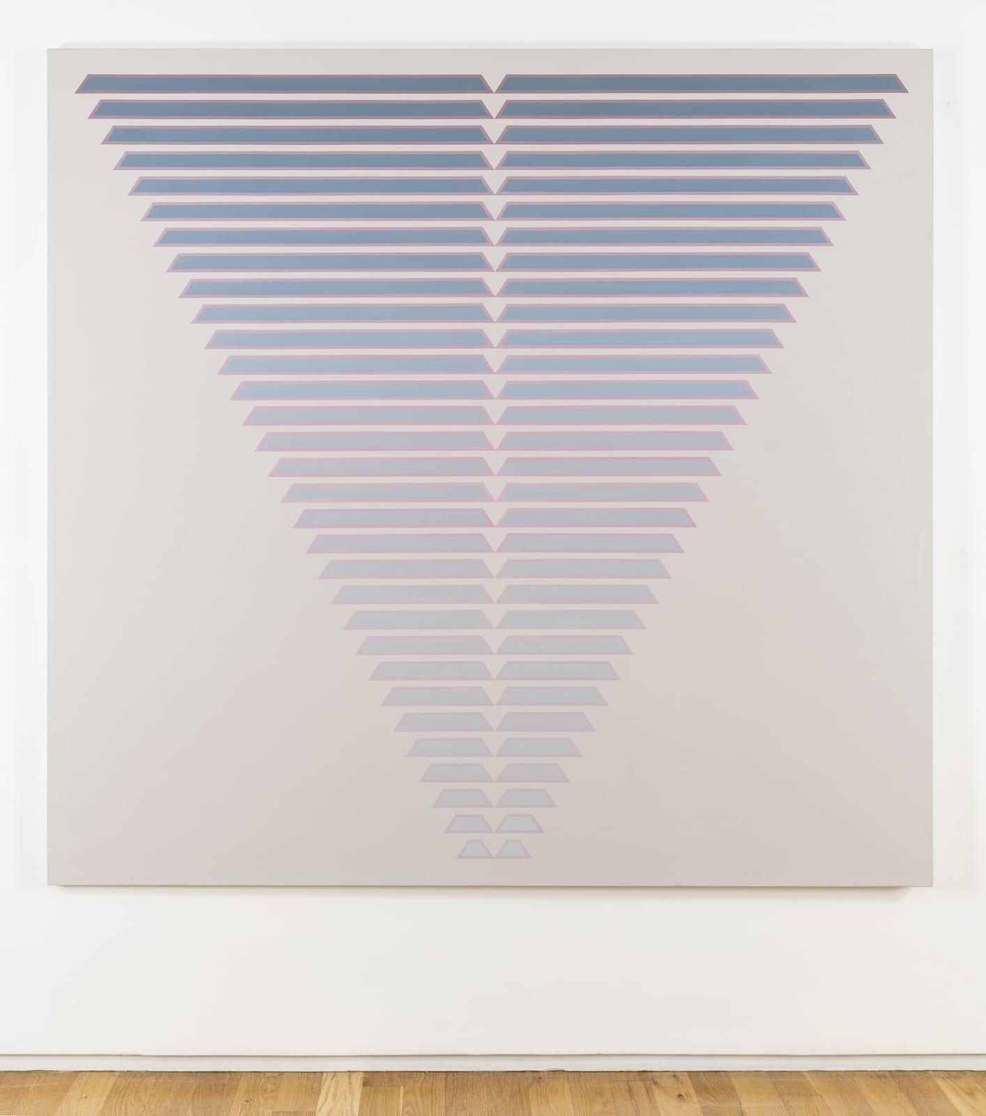 Tess Jaray, Thirty One Steps, 1987