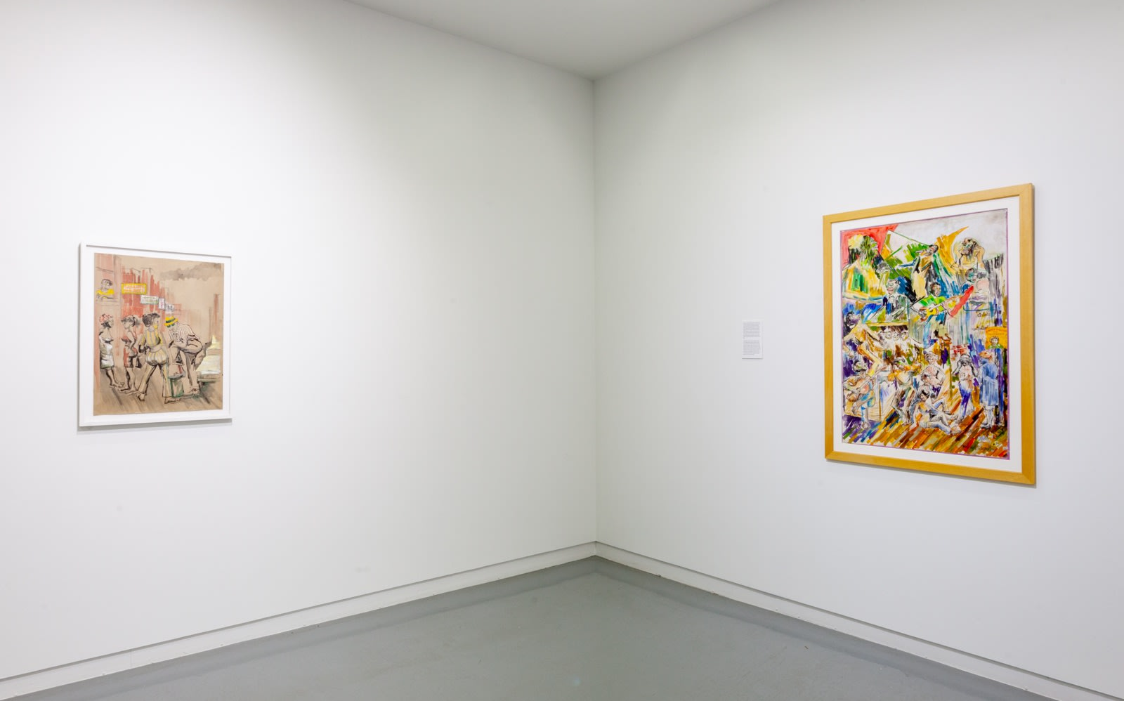 Wadsworth Jarrell and Gerald Williams, Works on Paper