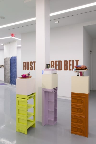 Assisted, Curated by Jessica Stockholder