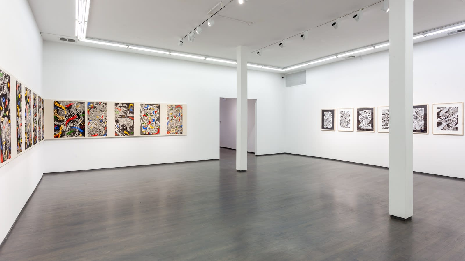 Kour Pour, Familiar Spirits, 2021, (Installation View), Kavi Gupta   835 W. Washington Blvd.