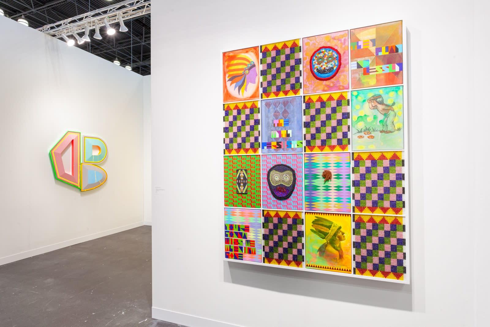 Kavi Gupta, The Armory Show, 2021 (Installation view)