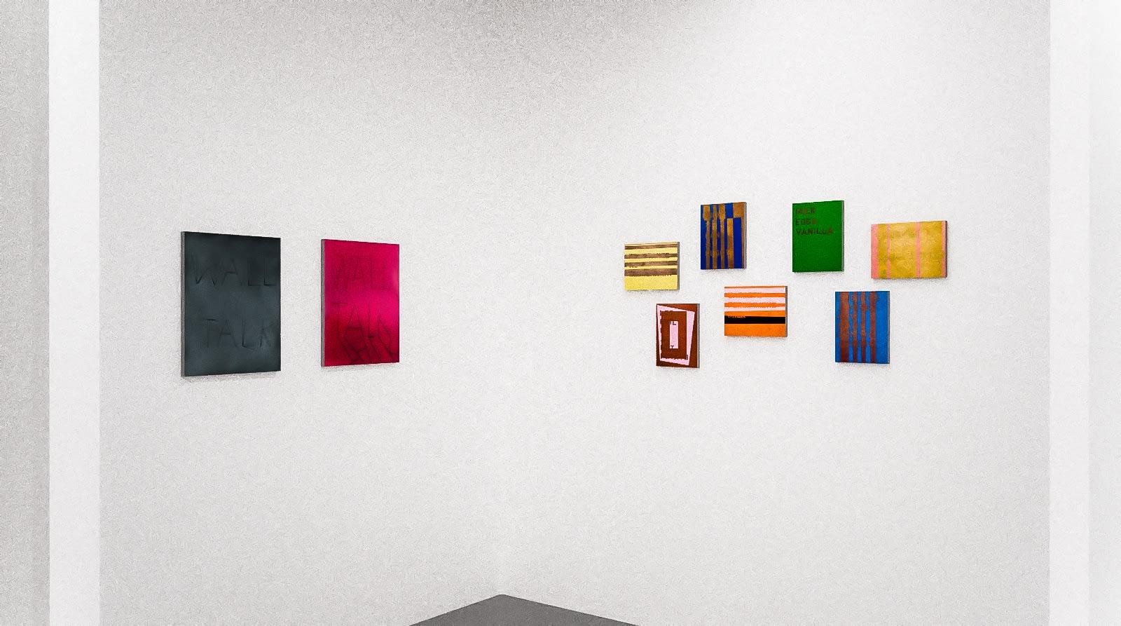 Scott Reeder, and Patrick Chamberlain in The Written Word (virtual exhibition view), 2020, Kavi Gupta