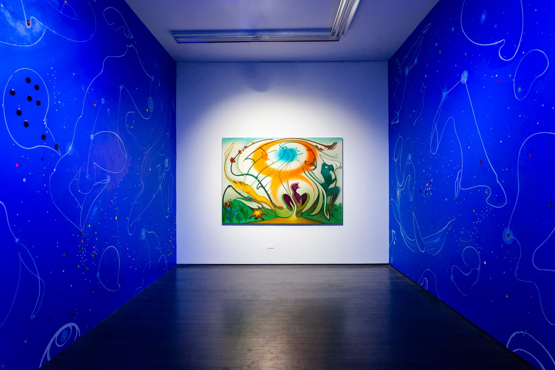 Inka Essenhigh, Uchronia (installation view), 2019, Kavi Gupta   Washington Blvd