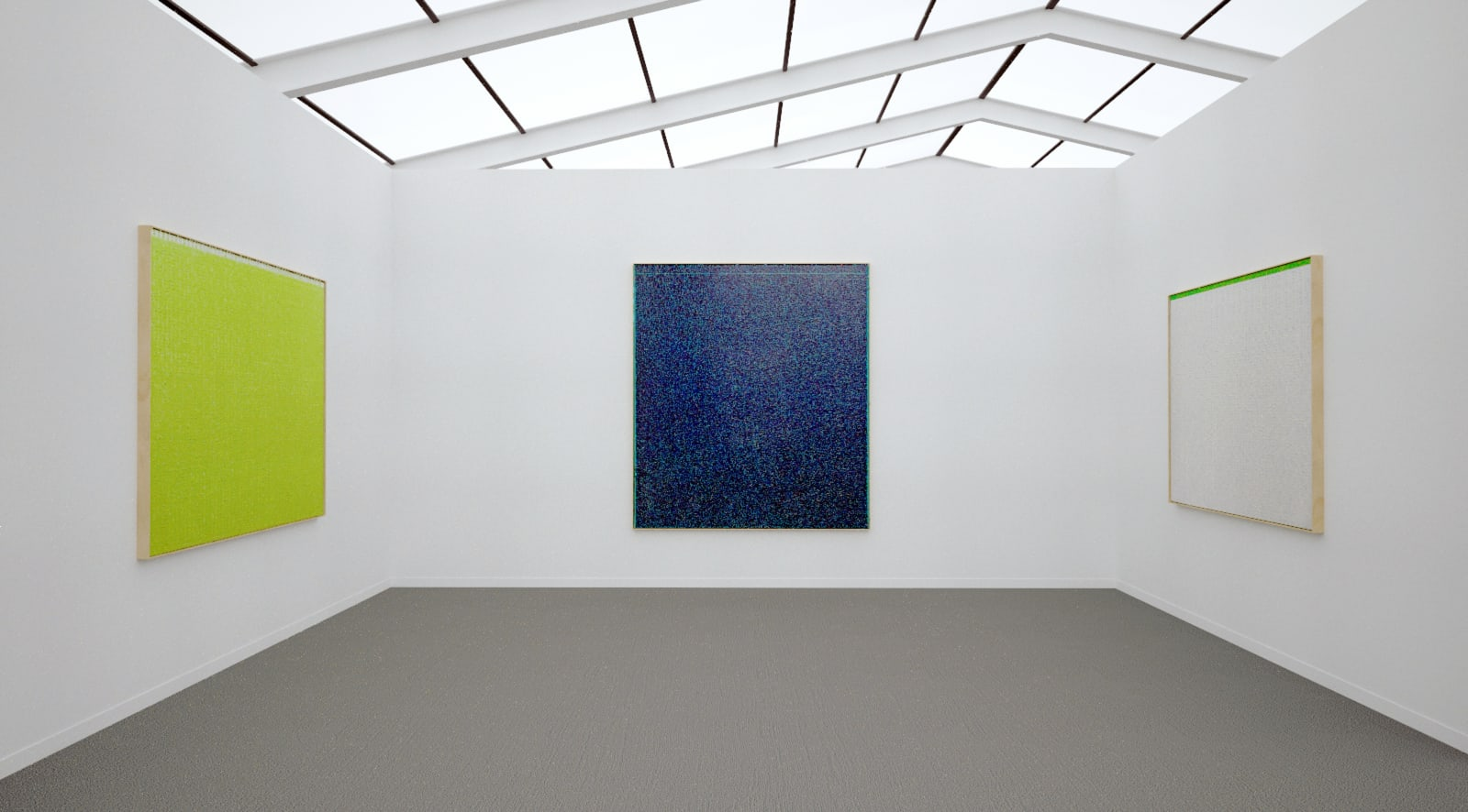 Works by Young-Il Ahn at Frieze New York (Installation View), 2020, Kavi Gupta