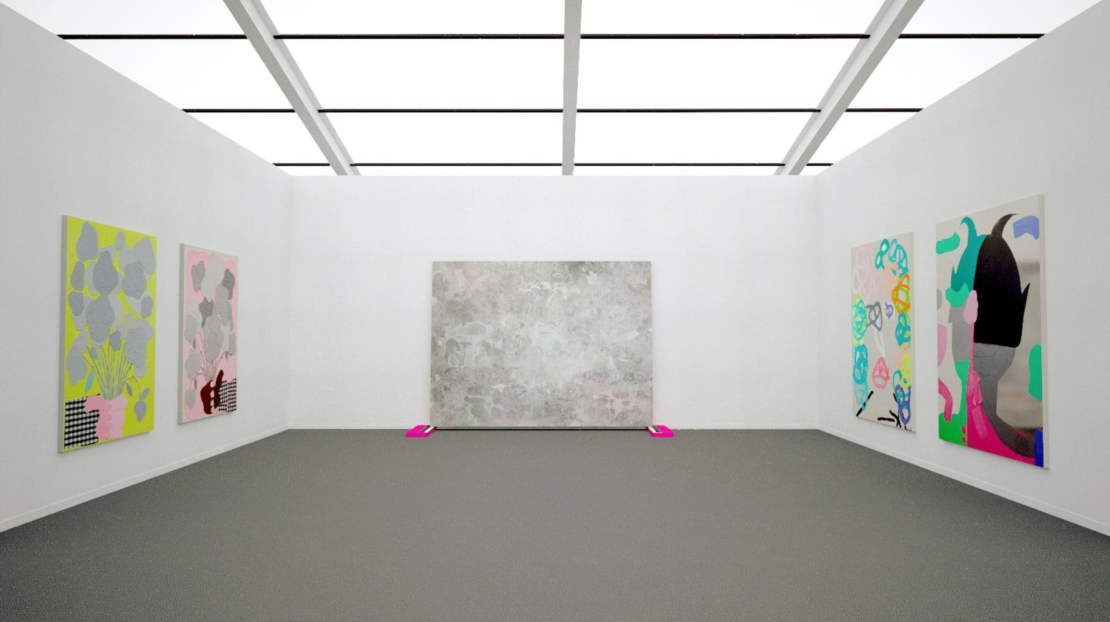 Works by José Lerma at Frieze New York (installation view), 2020 Kavi gupta