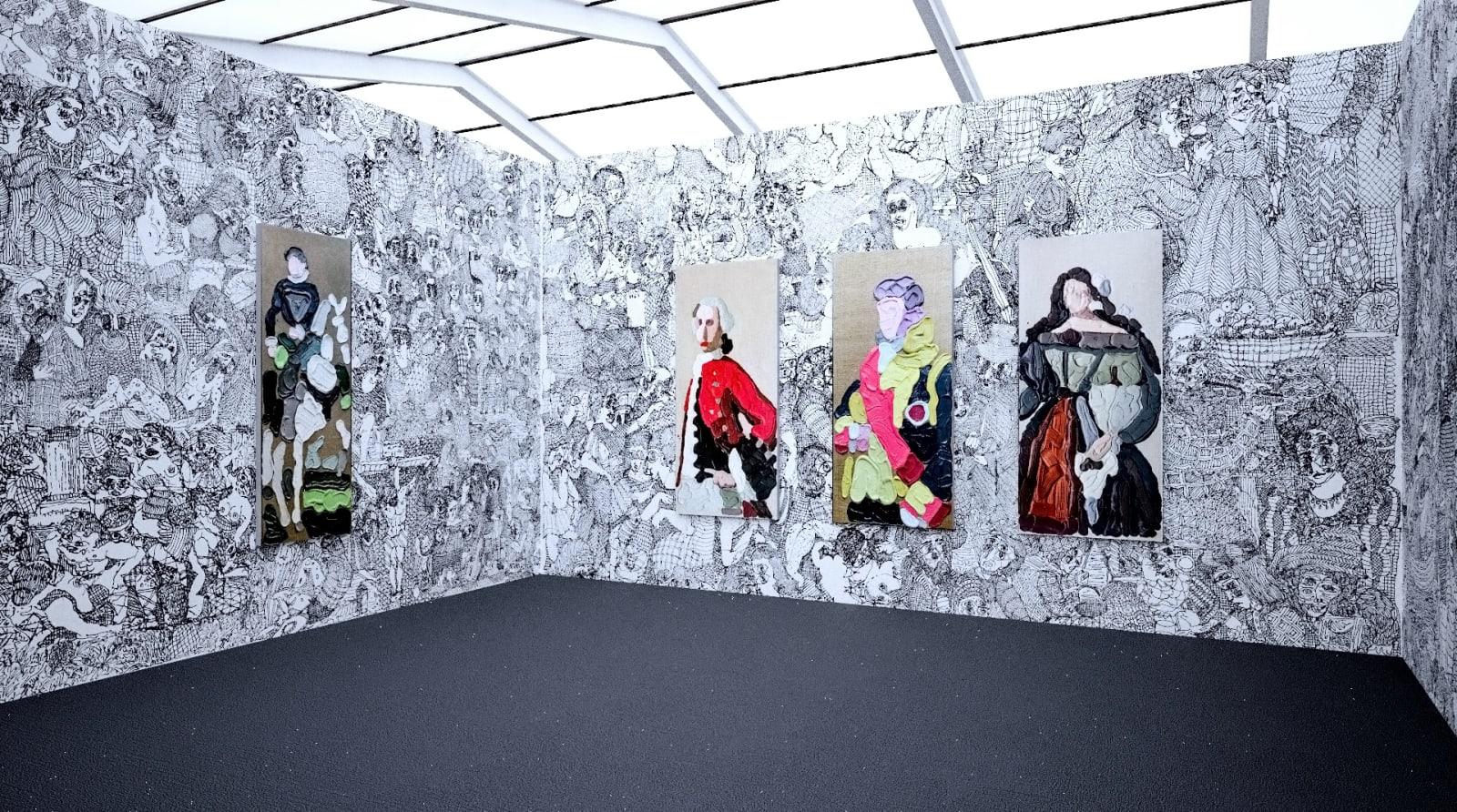Works by José Lerma at Frieze New York (Installation View), Kavi Gupta, 2020