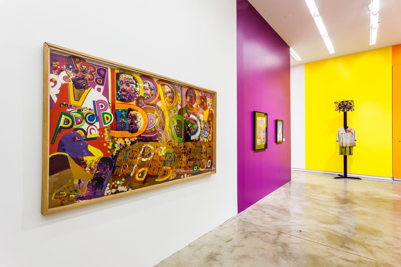 Installation View Africobra 50, Kavi Gupta, 2018