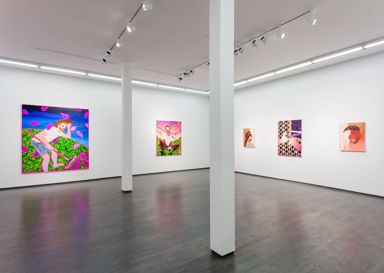 Devan Shimoyama, We Named Her Gladys (installation view), 2019, Kavi Gupta | Washington Blvd.