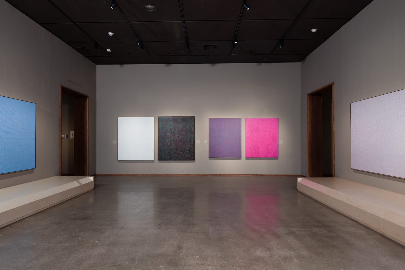 Young-Il Ahn, Unexpected Light, LACMA, Los Angeles, CA, Installation View, Photo by Michael Underwood.