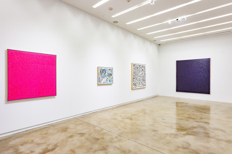 Young-Il Ahn, 2018, installation view, Kavi Gupta | 219 Elizabeth St. Photo by John Lusis.