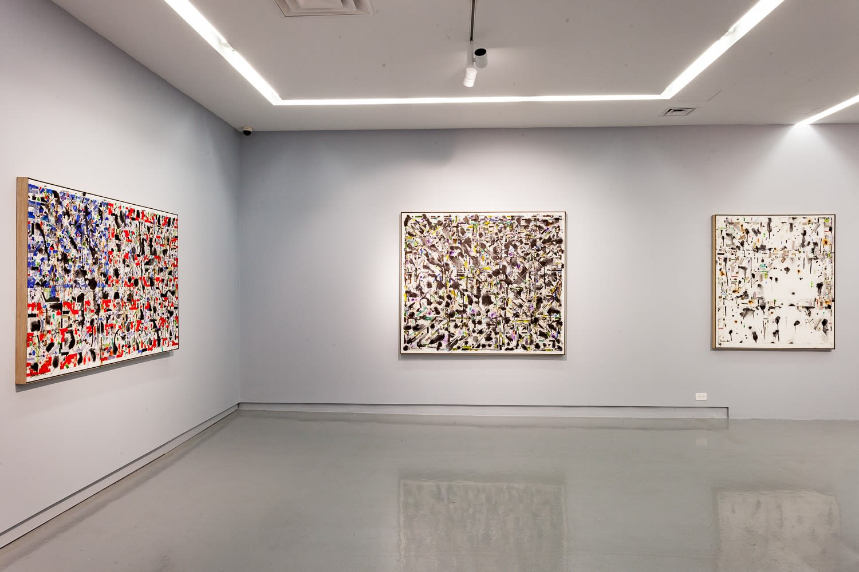 Young-Il Ahn, 2018, installation view, Kavi Gupta   219 Elizabeth St. Photo by John Lusis.