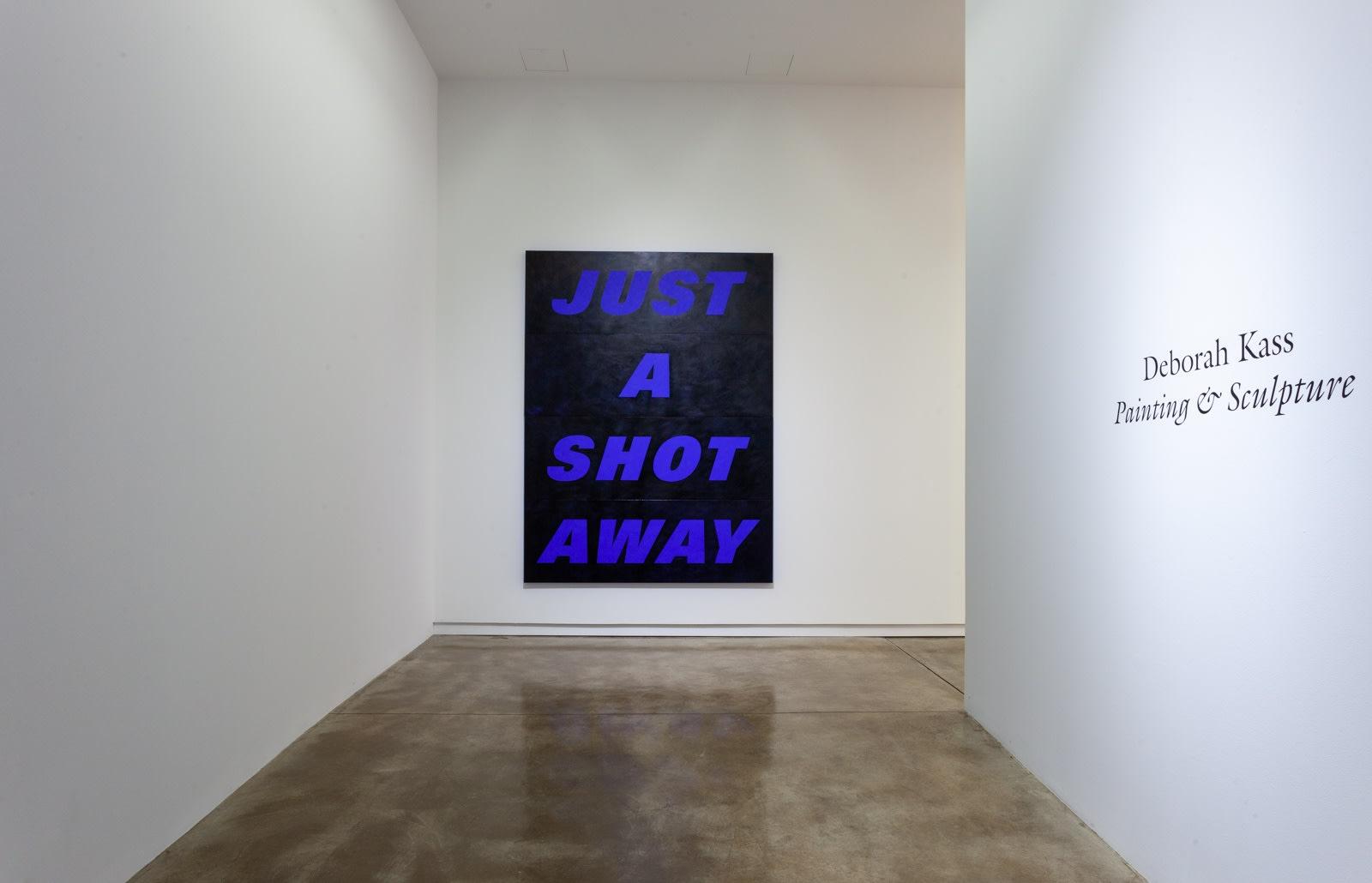 Deborah Kass: Painting and Sculpture (installation view), 2020, Kavi Gupta | Elizabeth St.