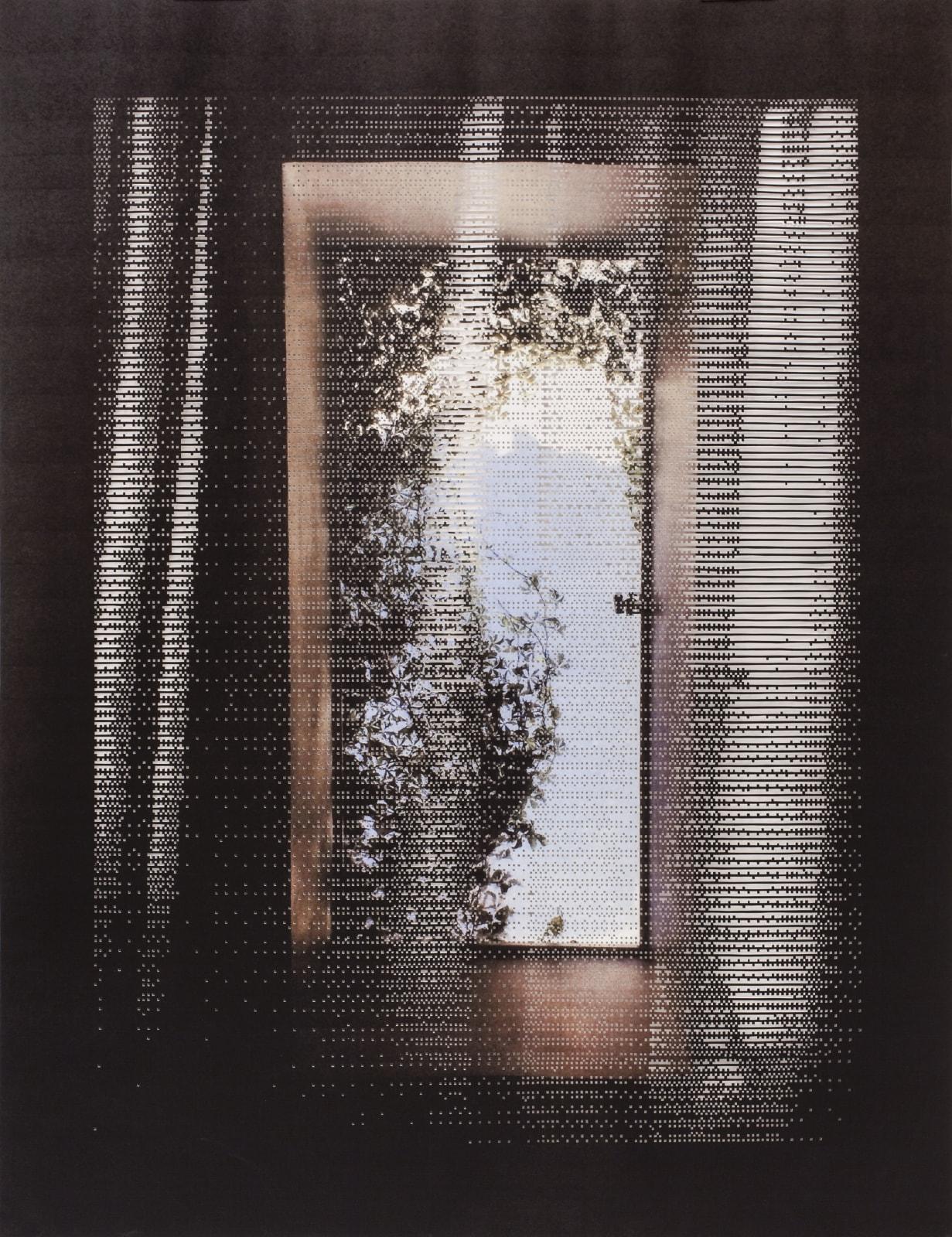 Caroline Jane Harris, Shroud, 2018 Hand-cut archival pigment print on paper installation 130 x 100 cm