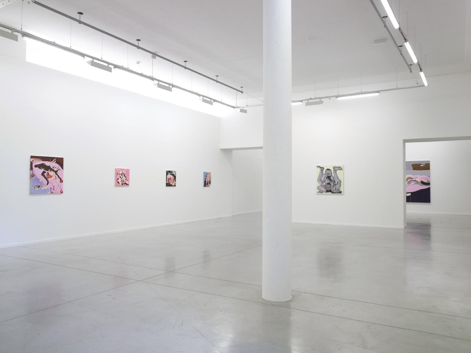 AMBERA WELLMANN exhibition view, UnTurning, MO.CO. Panacée, Montpellier, 2019