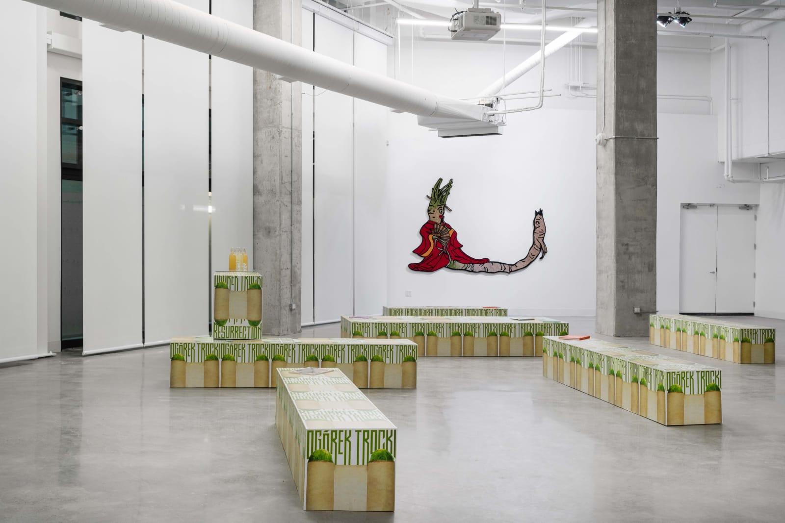 SLAVS AND TATARS exhibition view, Pickle Politics, Sugar Contemporary, Toronto, 2019-2020