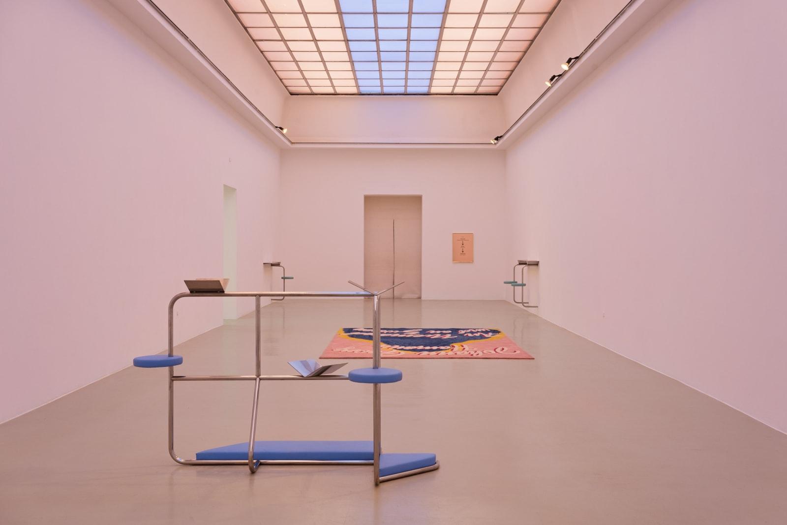 SLAVS AND TATARS exhibition view, Sauer Power, Kunstverein Hannover, 2018