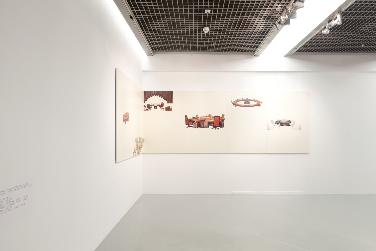 GCC exhibition view, Peer to Peer - Collective Practices in Art , Muzeum Sztuki, Łódź 2018