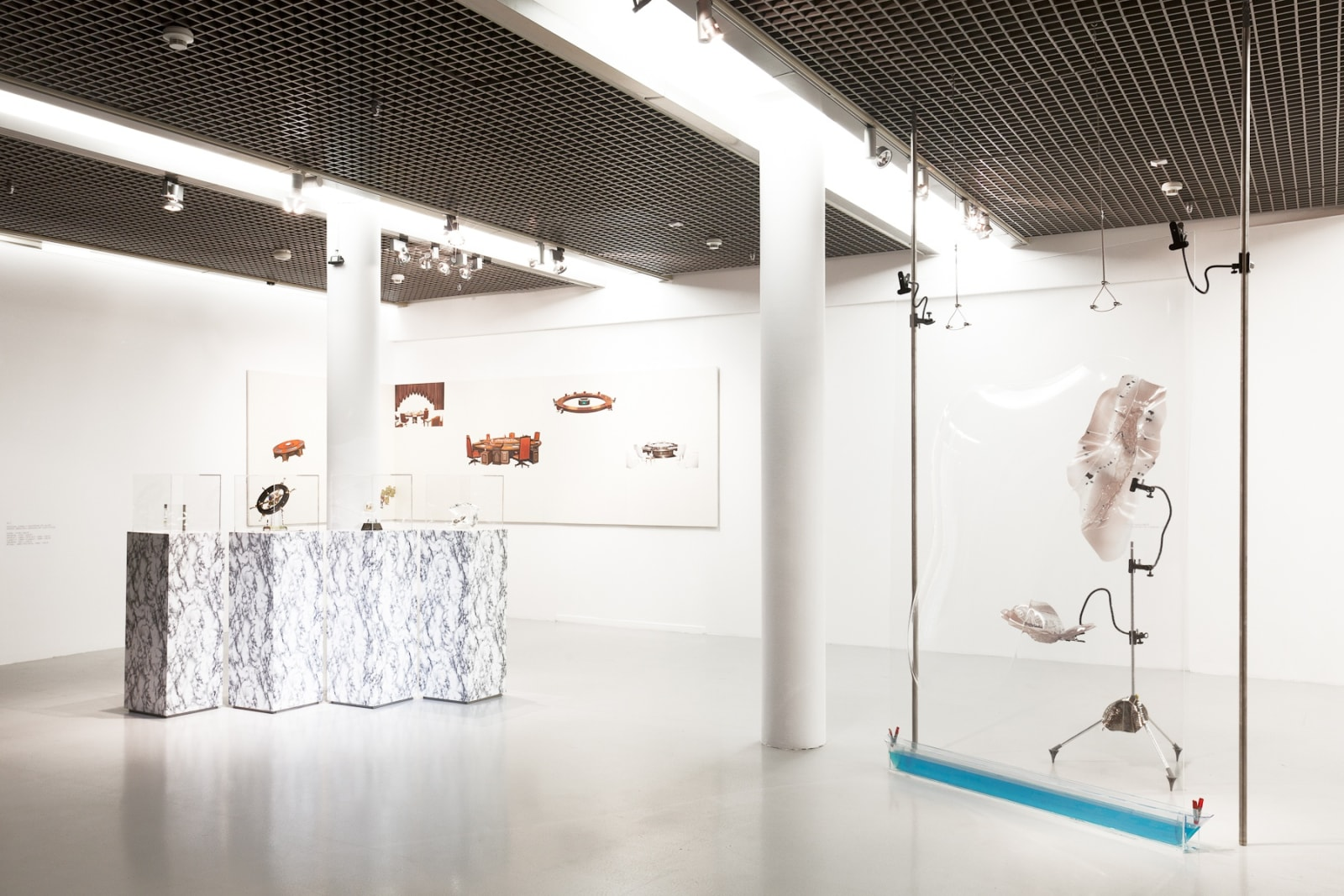 GCC exhibition view, Peer to Peer - Collective Practices in Art , Muzeum Sztuki, Łódź, 2018