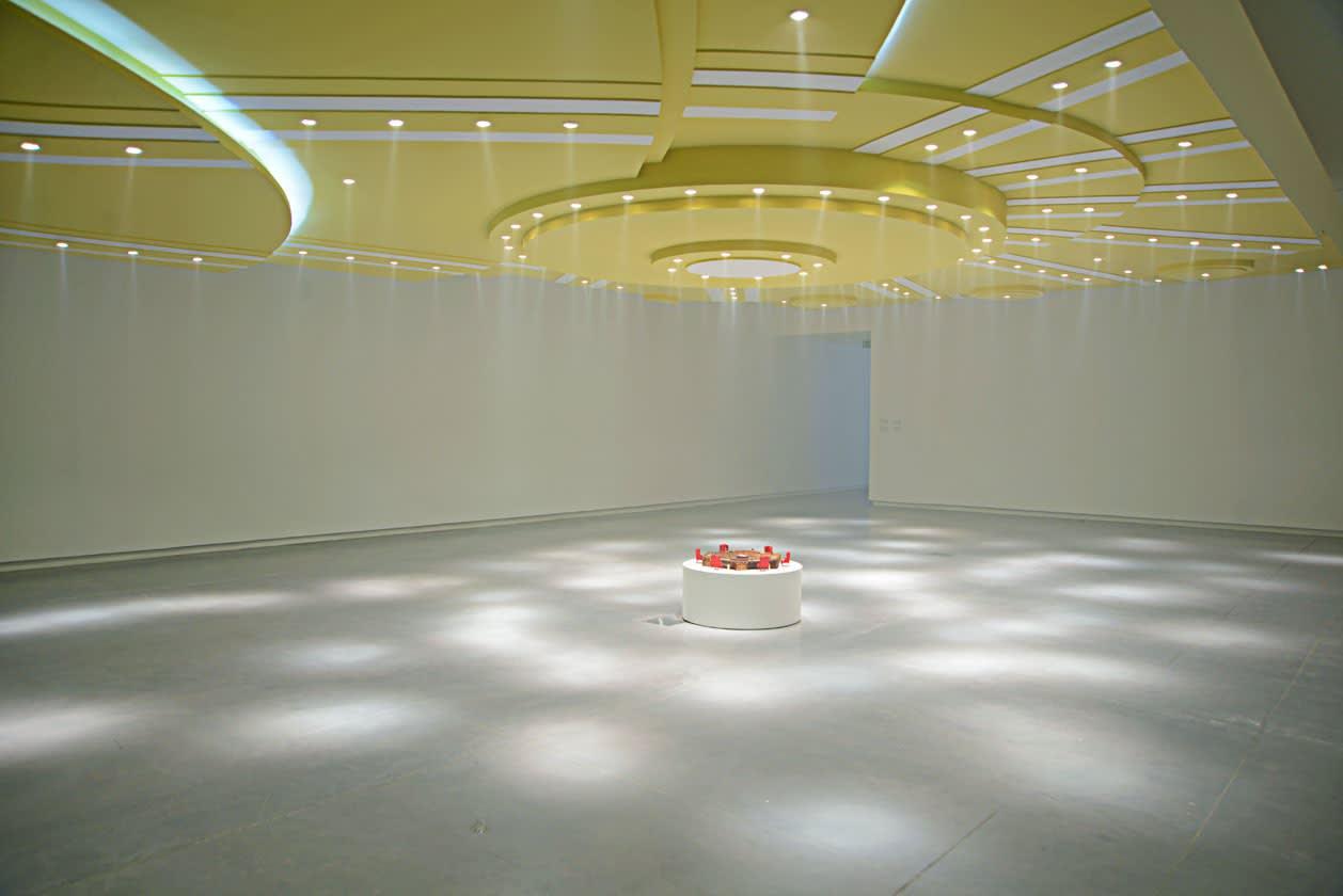 GCC exhibition view, Achievements in Retrospective, Sharjah Art Foundation 2014