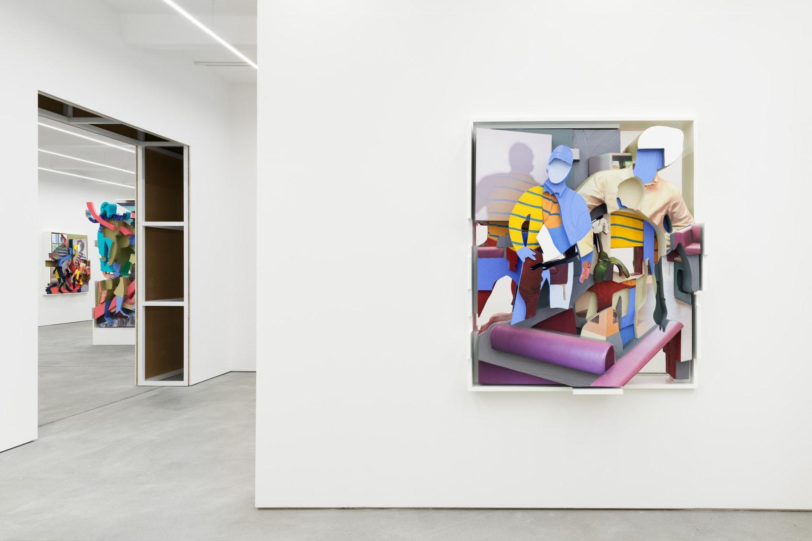 PIETER SCHOOLWERTH exhibition view, Kraupa-Tuskany Zeidler, Berlin, 2019