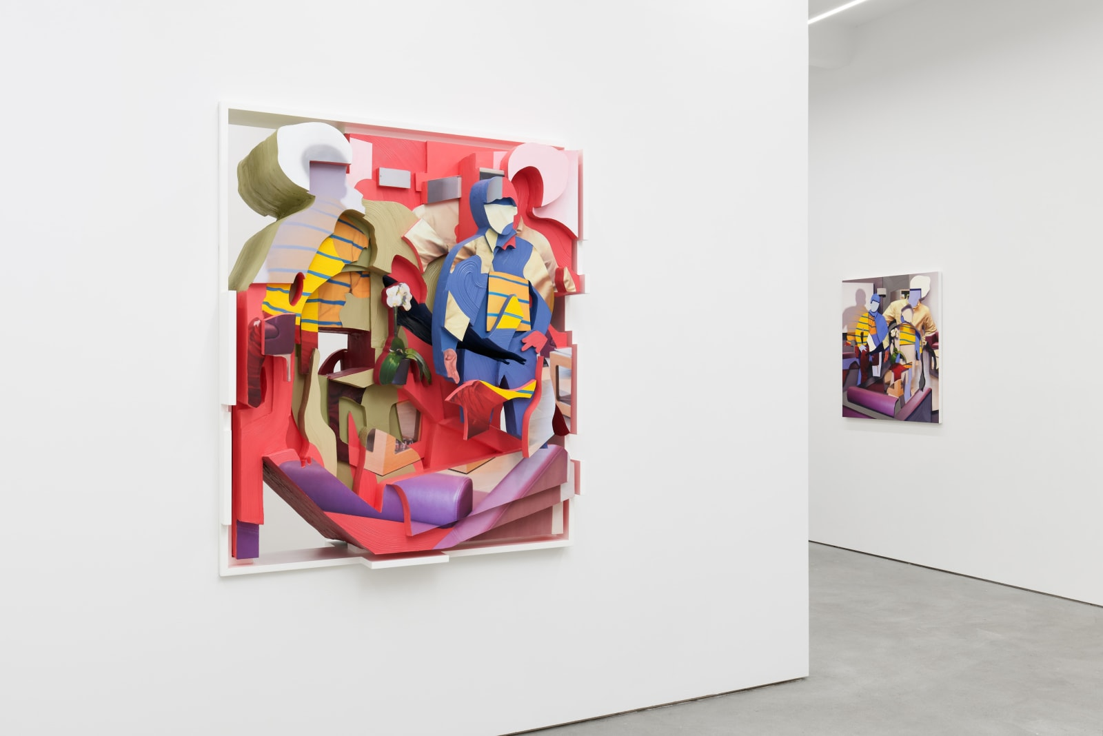PIETER SCHOOLWERTH exhibition view, Kraupa-Tuskany Zeidler, Berlin, 2019