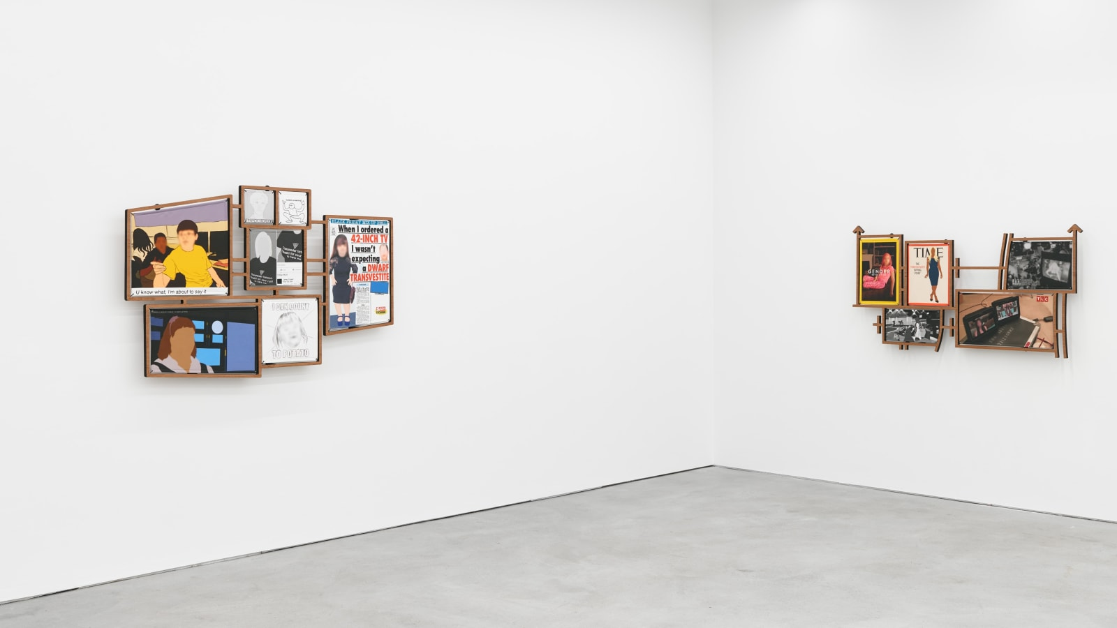 ANDREA CRESPO exhibition view, Step Right Up, Kraupa-Tuskany Zeidler, Berlin, 2019
