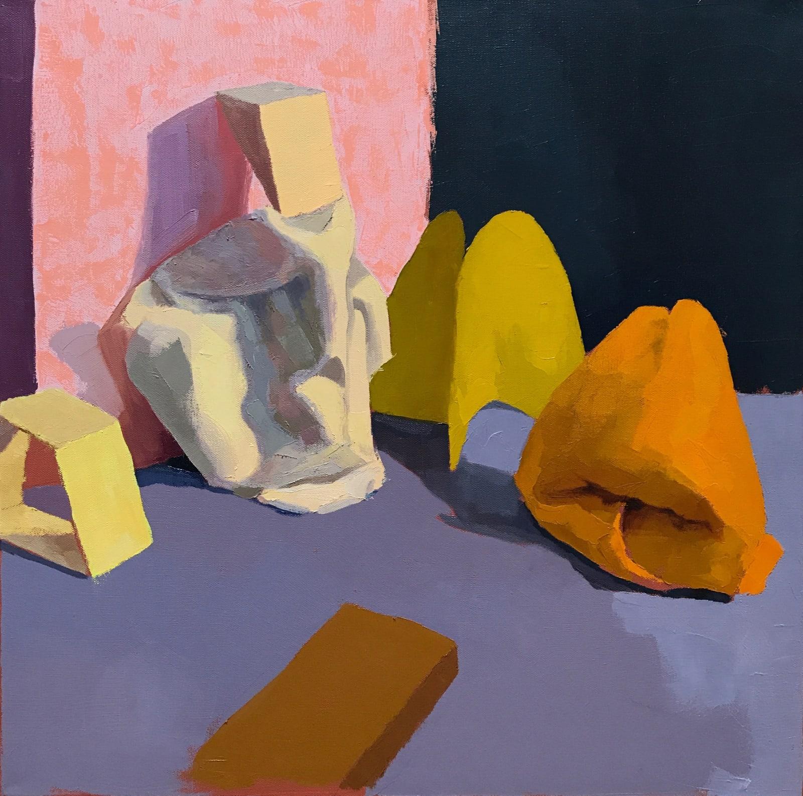 Annie Compean, Yellow Scene - 2020