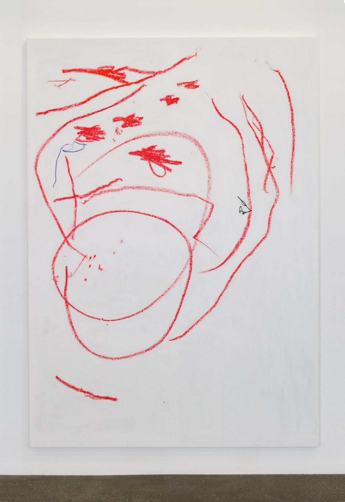 Nadia Kaabi-Linke, Pale Geranium Lake and Scarlet (remastered) , 2018