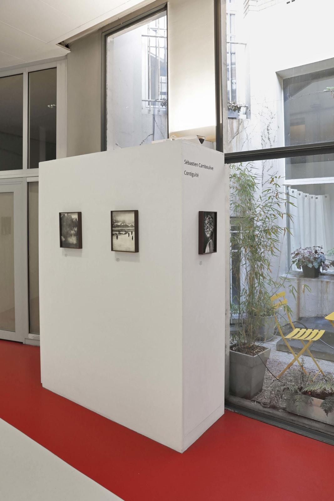 Sébastien Camboulive, Contiguïté, 2019 Les Douches la Galerie, Paris