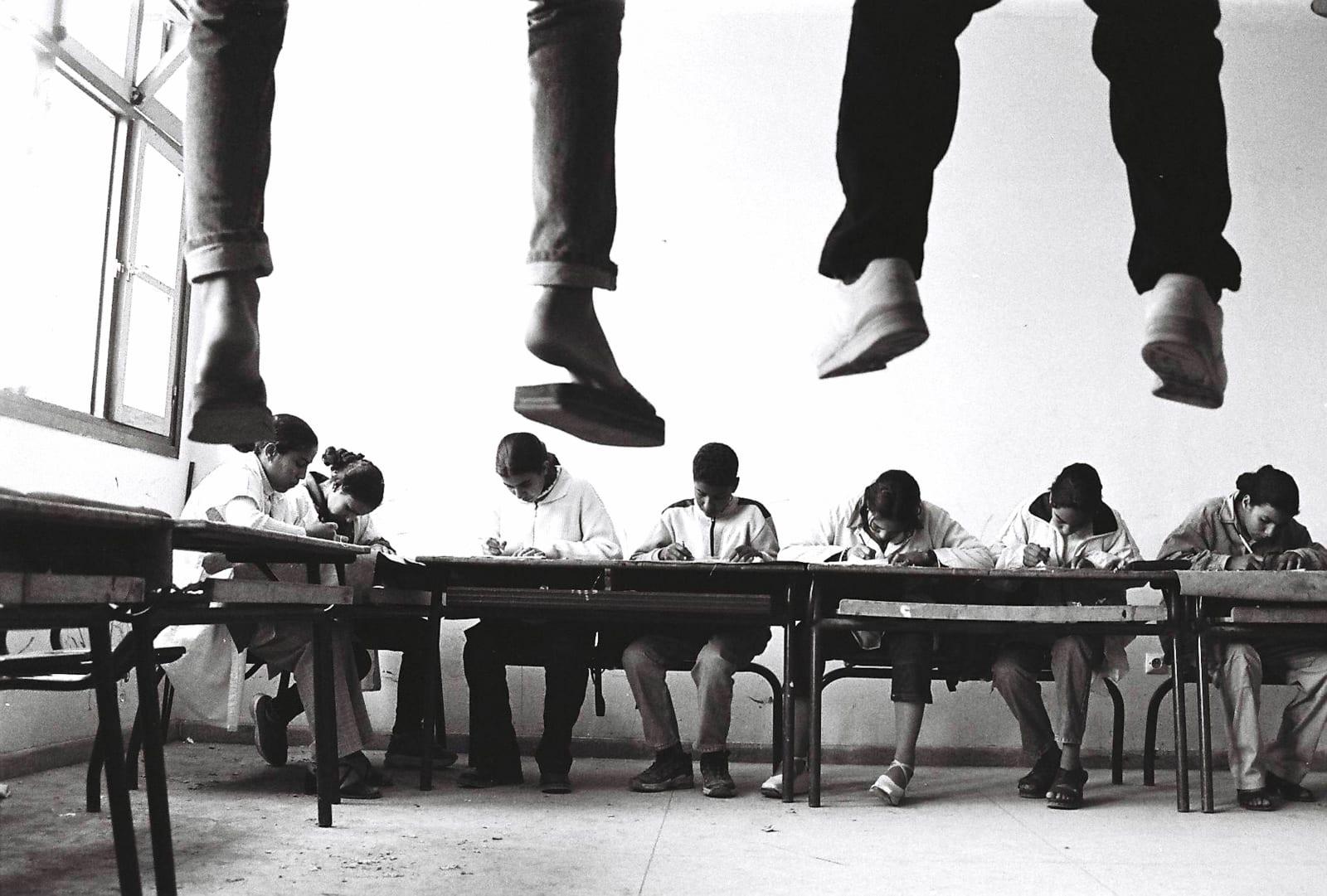 Hicham Benohoud Untitled, La salle de classe series, 1994 - 2002