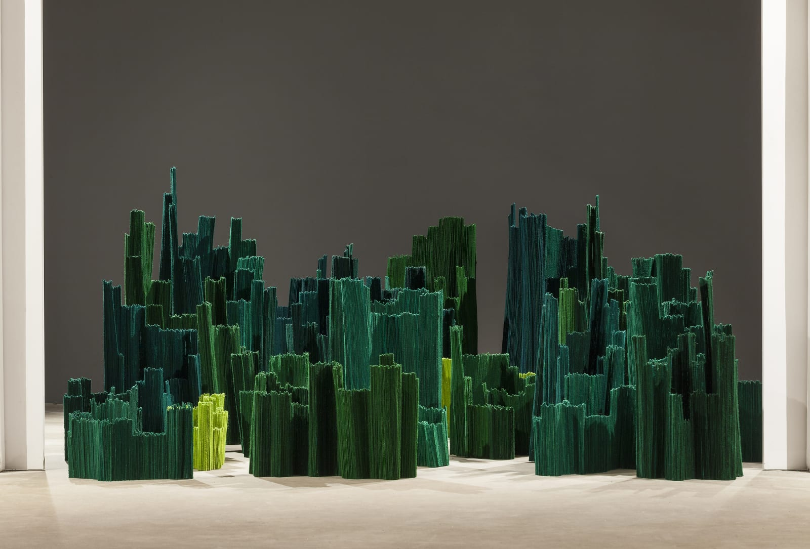 Amina Agueznay Installation : A Garden Inside - untitled, 2020 Variable dimensions (LOFT0681)