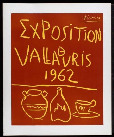 Pablo Picasso, Exposition de Vallauris, 1962 Linocut