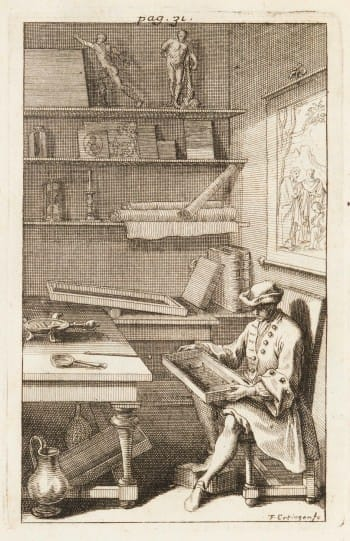 Pierre Emery, The Etching Press from the front, 1701 Etching