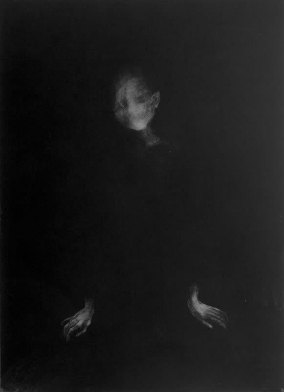 Tiina Kivinen, Quiet Pose, 2016 Mezzotint