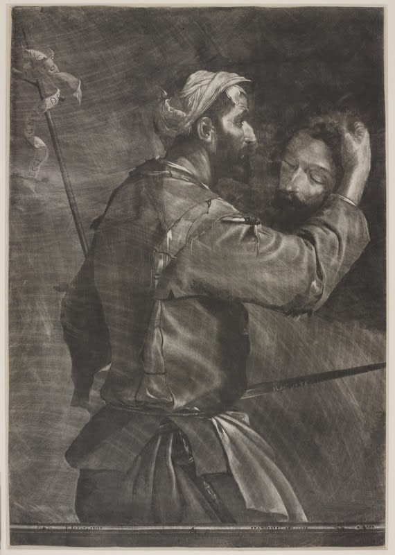Rupert, Prince Palatine of the Rhine, The Great Executioner, 1658 Mezzotint
