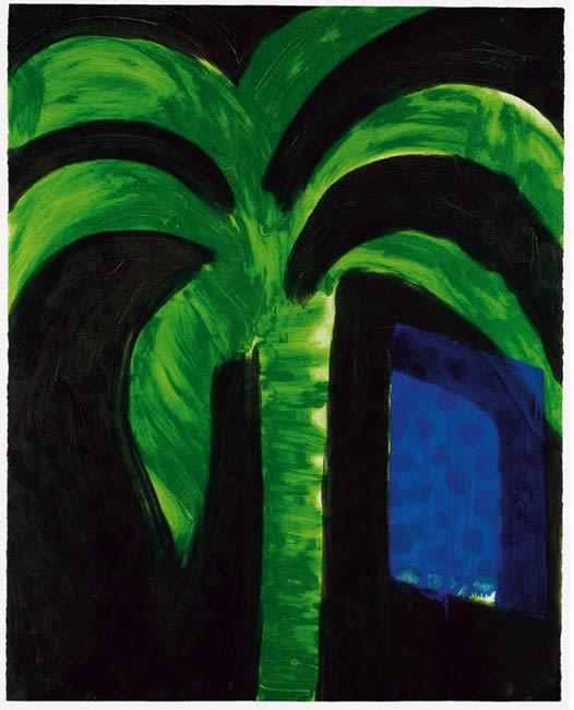 Howard Hodgkin, Palm and Window, 1990 - 1991 Intaglio with Carborundum