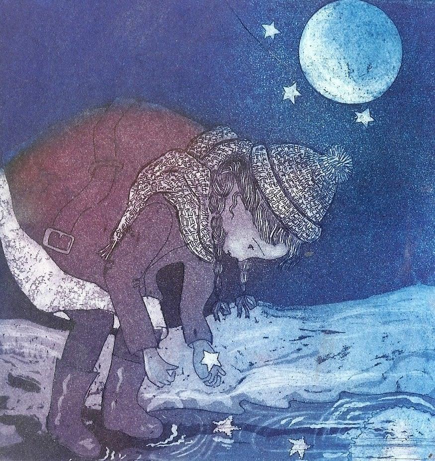 Jane Daniells, Starry Starry Night, 2019