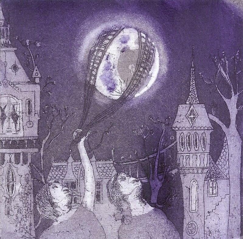 Jane Daniells, Captive Moon, 2019